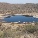 Tswaing Crater, Soshanguve, Gauteng.Golden City Flight Tour